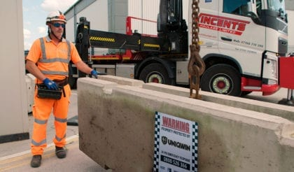 Concrete barriers supply, installation and relocation for Outsourced <em>Personnel</em>