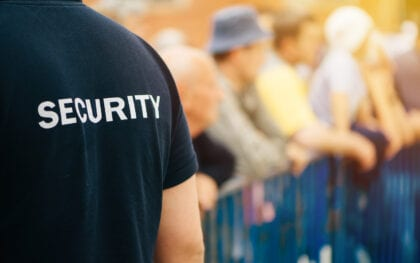 Facilities, Security Companies & security guards for Events, Exhibitions, Entertainment – <em>Stadia & Venues</em>